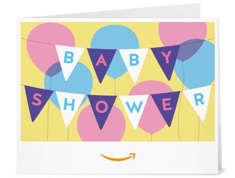 Amazon Gift Card Baby Shower - amazon com amazon gift card print baby shower banner gift cards