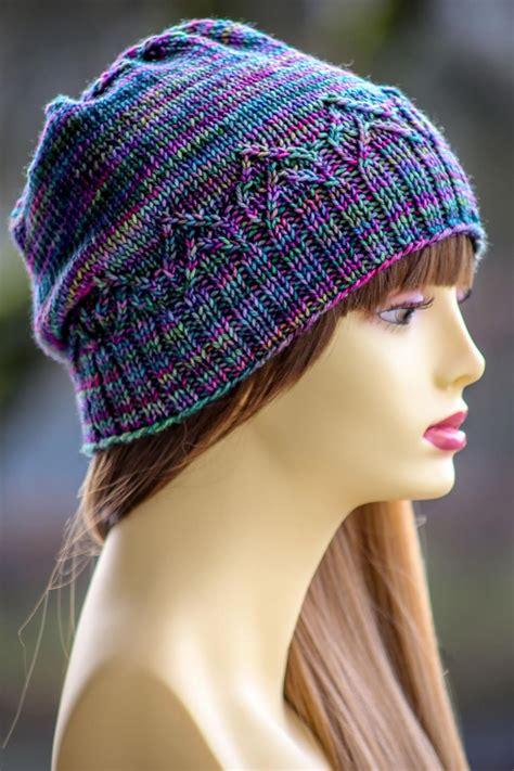 knitting flicking flicker hat allfreeknitting