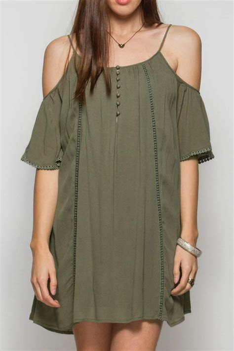 Olive Casual she sky olive casual dress from by miss mcgillicuddy s shoptiques