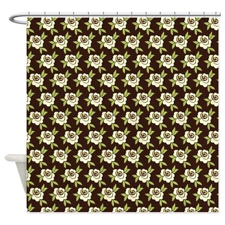 Green And Brown Shower Curtains Lime Green And Brown Shower Curtain By Nicholsco