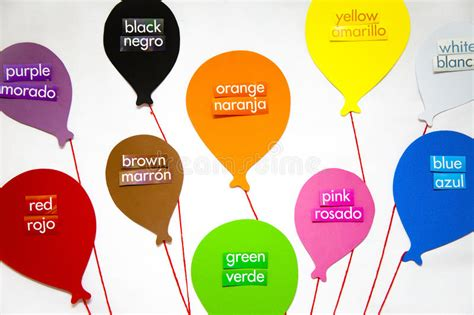 color in translation and colors stock image image of balloons