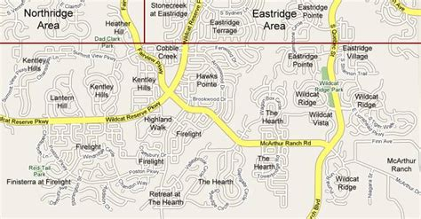 highlands ranch colorado map southridge subdivisions map and list highlands ranch