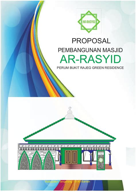 proposal attaubah masjid arasyid