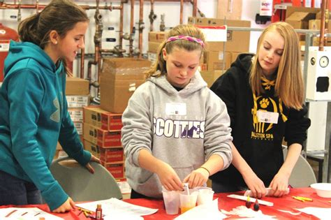 adirondack trust supports middle school girls stem