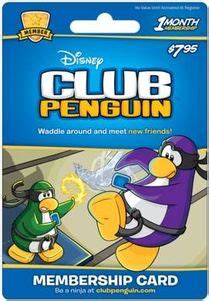 Club Penguin Gift Card Codes - disney club penguin 12 month membership code with free exclusive bonus item your 1