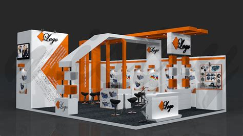 exhibition layout 3d exhibition booth 3d model 8 mtr x 6 mtr cgtrader