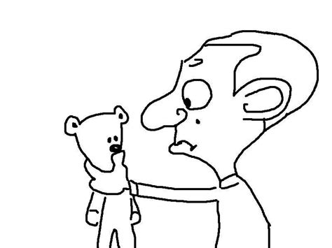 coloring pages mr printable mr bean coloring pages
