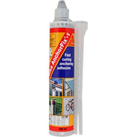 Sika Anchorfix2 Fast Curing Anchoring Adhesive 1 sika 174 anchorfix 1 sika retail australia diy