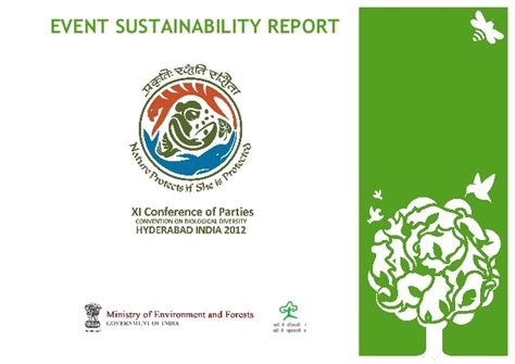 Writing A Report On Sustainability by Cop11 Conference On Biodiversity Sustainability Report