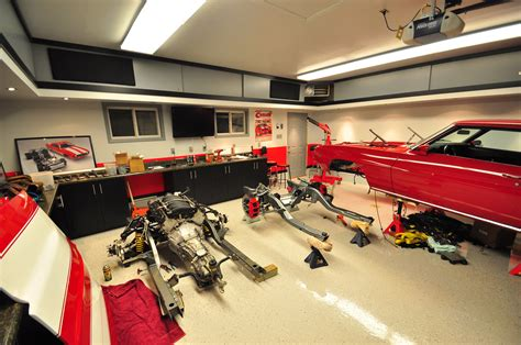 Awesome Car Garages by Dreamgarages Part 6 Ultimate Mancave Automotive Tuner