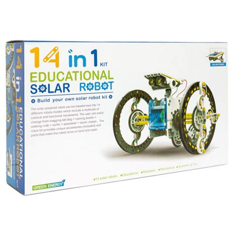 Solar Kit Robot Solar Educational 3 In 1 Robot Rakit 14 in 1 educational solar robot kit