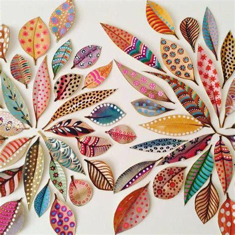 leaf pattern artwork best 25 leaf art ideas on pinterest leaf crafts nature