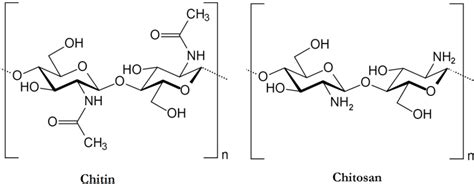 Chitin Chitosan marine drugs free text chitin and chitosan preparation from marine sources structure