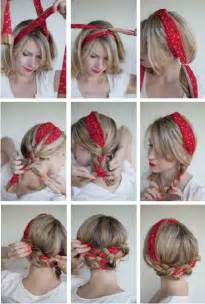 ways to braid your hair for a sew in 16 beautiful hairstyles with scarf and bandanna pretty