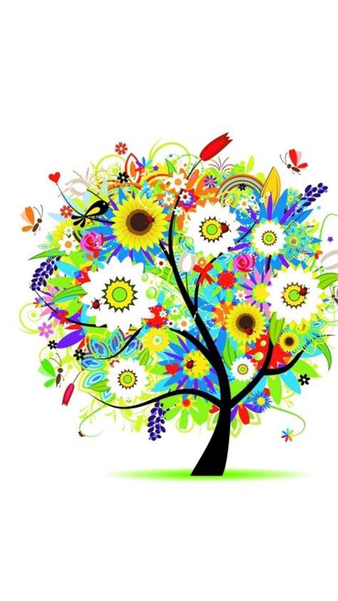 descargar fondos de pantalla flores de muchos colores hd 750x1334 vector fondos de pantalla descargar flores
