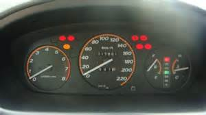 honda crv 2007 dashboard warning lights meanings