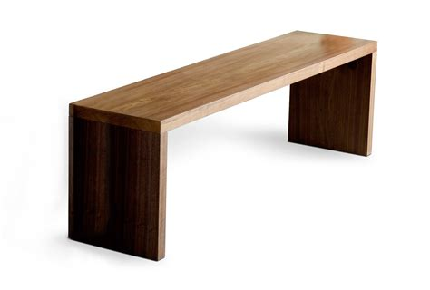 contemporary wood bench pollera org