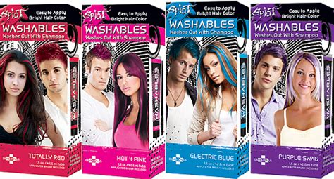 splat washables hair color change up your hair color with splat washables j 14