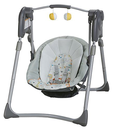 compact baby swing graco slim spaces compact baby swing linus
