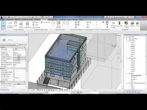 tutorial revit 2016 tutorial on revit 2016 energy analysis youtube
