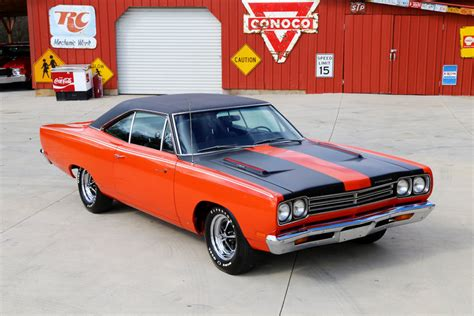 1969 plymouth roadrunner 426 hemi 426 hemi 60 four speed trans gorgeous restoclassic