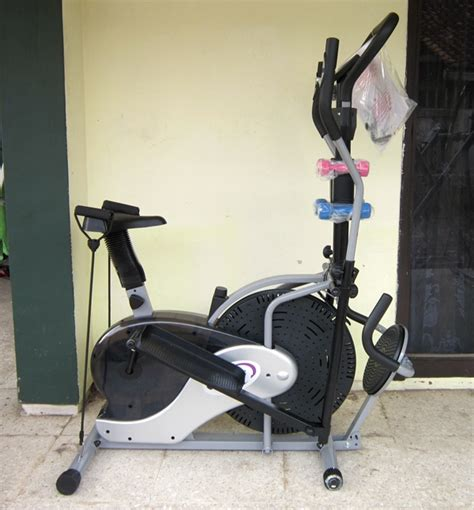 Sepeda Elliptical Crosstrainer Bike Tl 600e jual alat fitness alat fitness obitrack 3in1 murah
