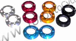 Baut Chainring Bolt Nut Aerozine Gold Anodize titanium chainring bolts titanium crank bolts kcnc chainring parts