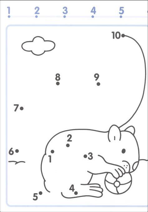 printable dot to dot 1 10 free worksheets 187 printable dot to dot 1 10 free math