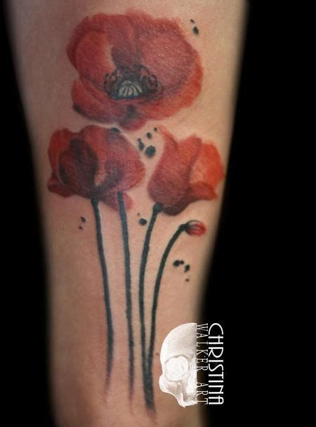 watercolor tattoos utah 25 best ideas about watercolor poppy on