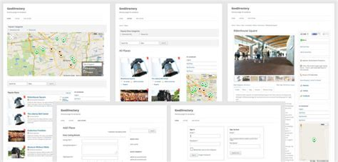 building directory template business directory design using a plugin wp mayor