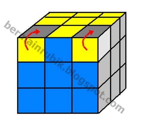 tutorial bermain rubik pemula tiara blog cara bermain rubik 3x3