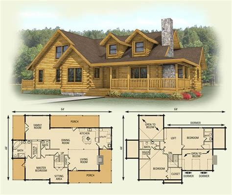 cabin style floor plans 14 best afordable log cabin homes images on pinterest