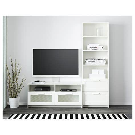 brimnes ikea brimnes tv storage combination white 180x41x190 cm ikea