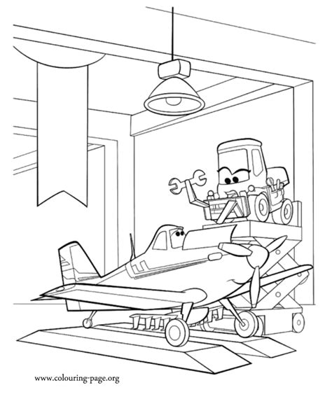 disney planes turbo dusty coloring pages coloring pages