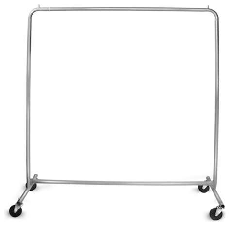 Small Rolling Clothes Rack by All Welded Utility Rolling Rack Traditional Clothes