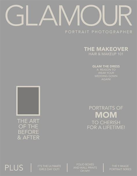 Photoshop Magazine Front Cover Template Option 1 Party Time Glam Night Pinterest Photoshop Magazine Cover Template
