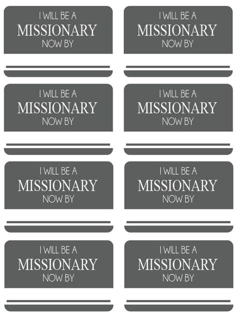 printable missionary name tags 186 best images about church missions missionary on