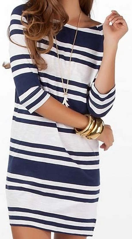 blue and white striped dresser blue striped dress pictures to pin on pinsdaddy