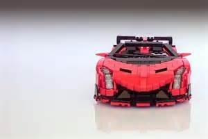 Lego Lamborghini Set Lamborghini Veneno Roadster Sports Car Lego Set Gadgetsin