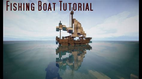minecraft boat night fishing minecraft all about fish