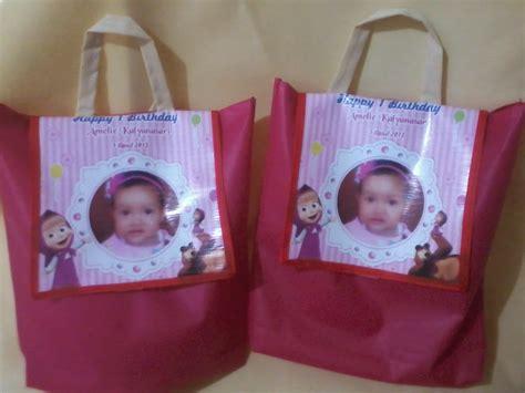Tas Souvenir Ulang Tahun Anak Spunbond Vinyl 3 tas souvenir ulang tahun rangsel tas souvenir murah di malang