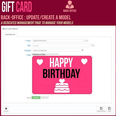 Prestashop Gift Card Module Free - gift card advanced solution prestashop addons