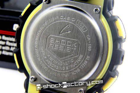 Casio G Shock Ga 100 Glx 150 g shock ga 100 black yellow wrist by www g