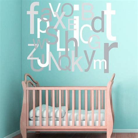 large alphabet wall stickers best 25 alphabet wall decals ideas on wall dinosaur room and letters for