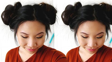 2 Buns Hairstyle by Easy Two Side Buns Hairstyle Tutorial Sheri Nguyen