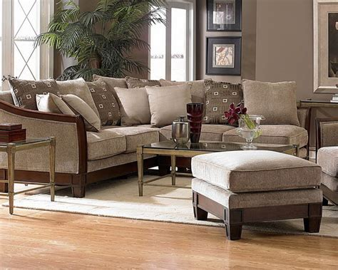 Chenille Sectional Sofa Trenton Chenille Sectional Sofa Contemporary Sectional Sofas New York By Furniturenyc