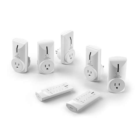 wireless remote electrical outlet switch for
