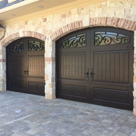 Christie Door Company by Iron Ornamental Garage Doors Are Trending In Nyc Boroughs