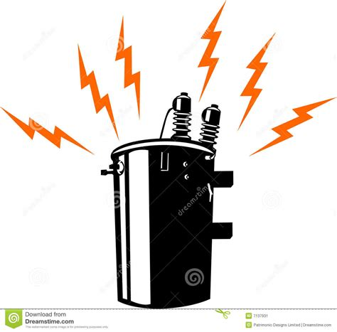 electrical transformer clipart