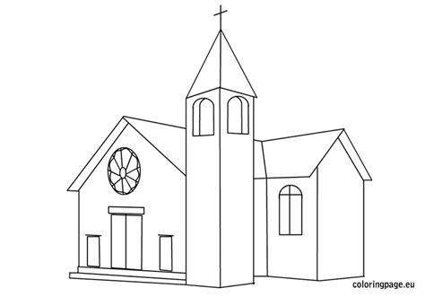 Church Free Coloring Pages Coloring Pages For Church